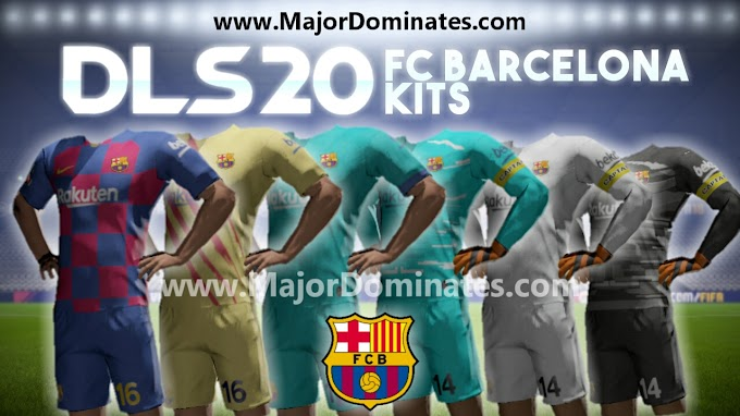 FC Barcelona 2019-20 Kits for DLS 20