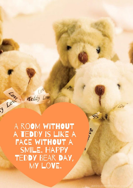 Images Wishes Quotes for Happy Teddy Day WhatsApp Status