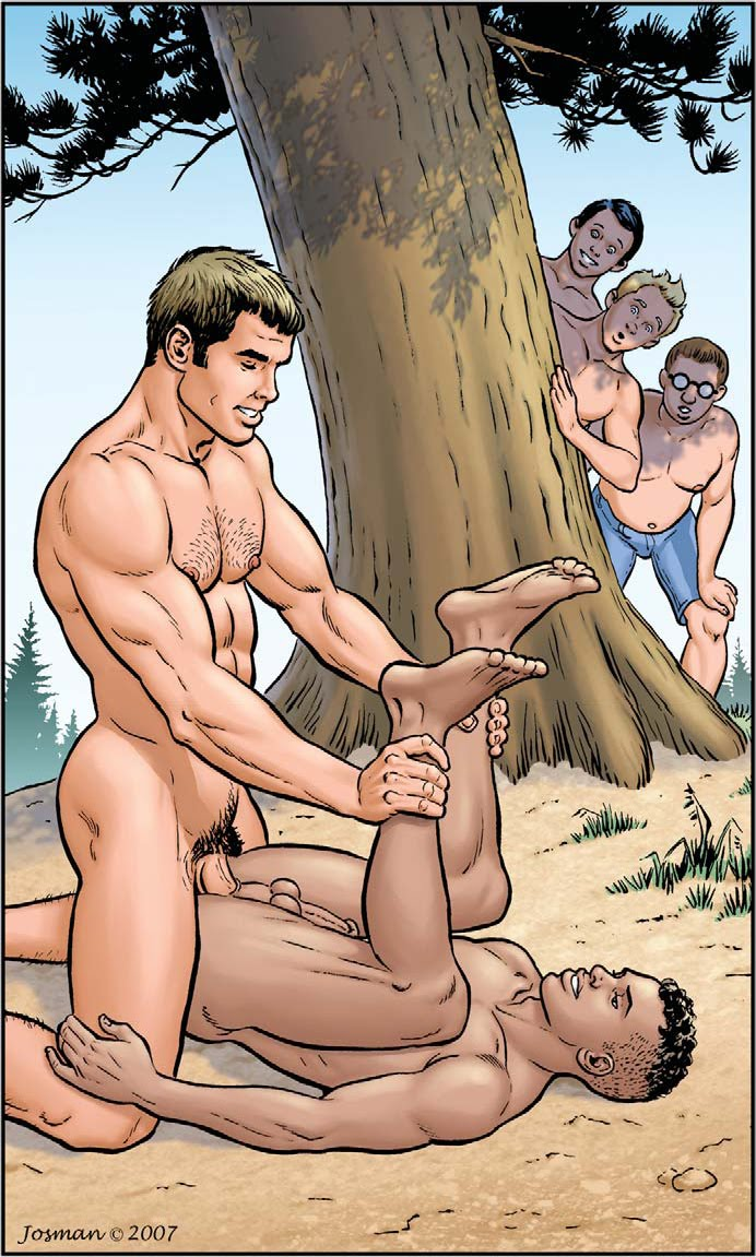 Gay Cartoon Comics