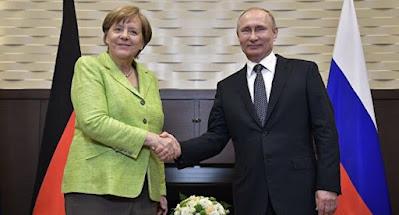 Меркель перед встречей с Зеленским едет к Путину