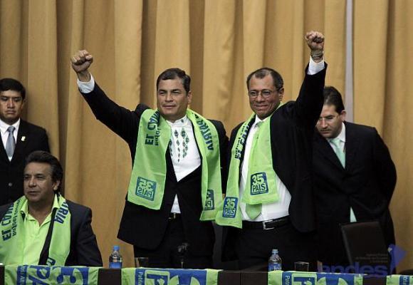 Correa y Glas mandaron en Ecuador, ahora son investigados por relación con empresa brasilera