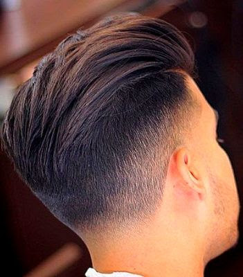 35 Modern Haircut For Men in 2020 - Slicked back fade