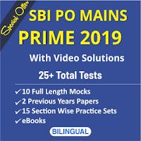 SBI PO Main Exam 2019 – English Language Preparataion | Must Do Topics_60.1
