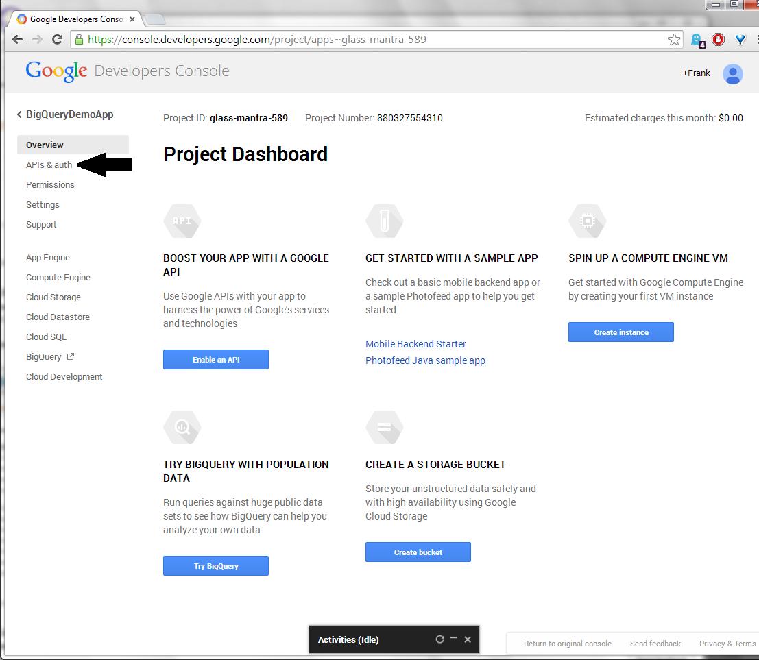 Bit Vectors: Front-end Google BigQuery with an ASP net 4 5