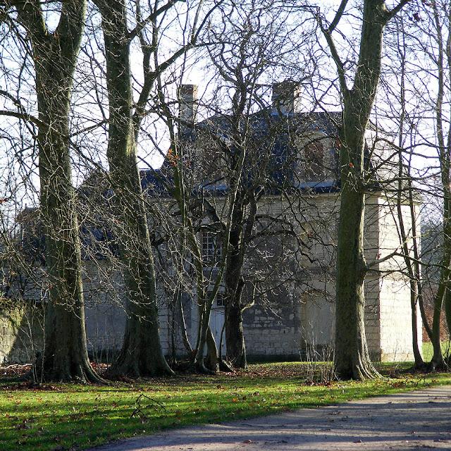 Pavillion, Chateau d'Argenson, Indre et Loire, France. Photo by Loire Valley Time Travel.