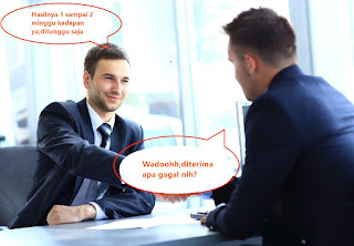 penjelasan kenapa disuruh menunggu setelah interview atau wawancara kerja