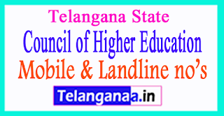 TSCHE Telangana State Council of Higher Education Mobile No.List