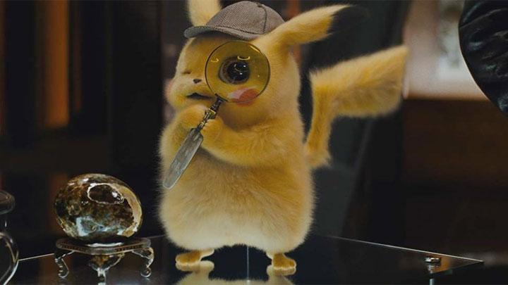 detektyw Pikachu szkło powiększające