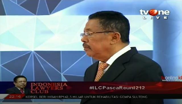Mengapa Jokowi Sama Sekali Tak Komentar Soal Reuni 212? Ini Jawaban di ILC