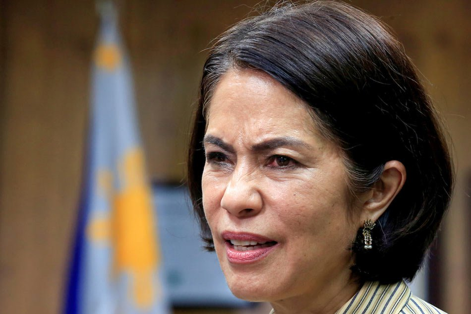 Rest in peace, Gina Lopez! Photo Credit: ABS-CBN News