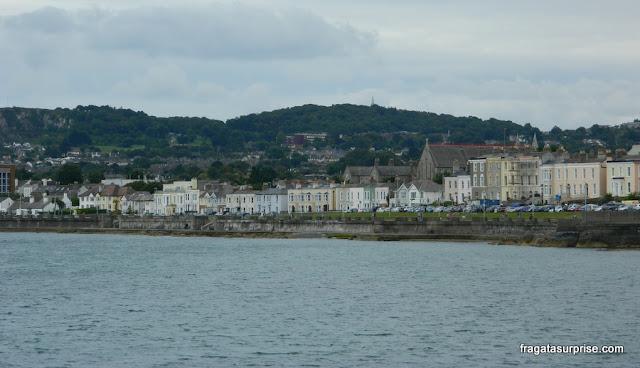 Dun Laoghaire, cidade litorânea próxima a Dublin