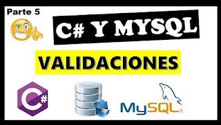 crud en c# y mysql