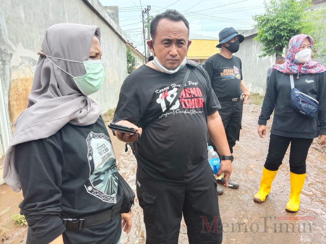 DLH Lumajang Bantu Bersih-bersih Pasca Banjir