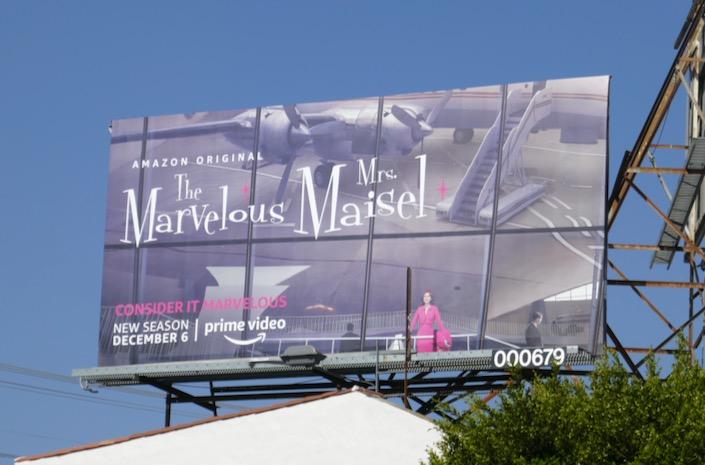 Marvelous Mrs Maisel season 3 billboard