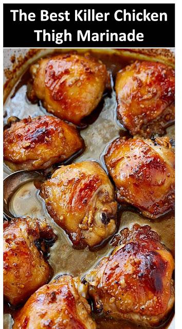 Killer Chicken Thigh Marinade #Killer #Chicken #Thigh #Marinade #KillerChickenThighMarinade