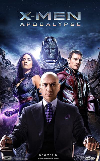 Download X-Men Apocalypse (2016) HC HDRip Subtitle Indonesia