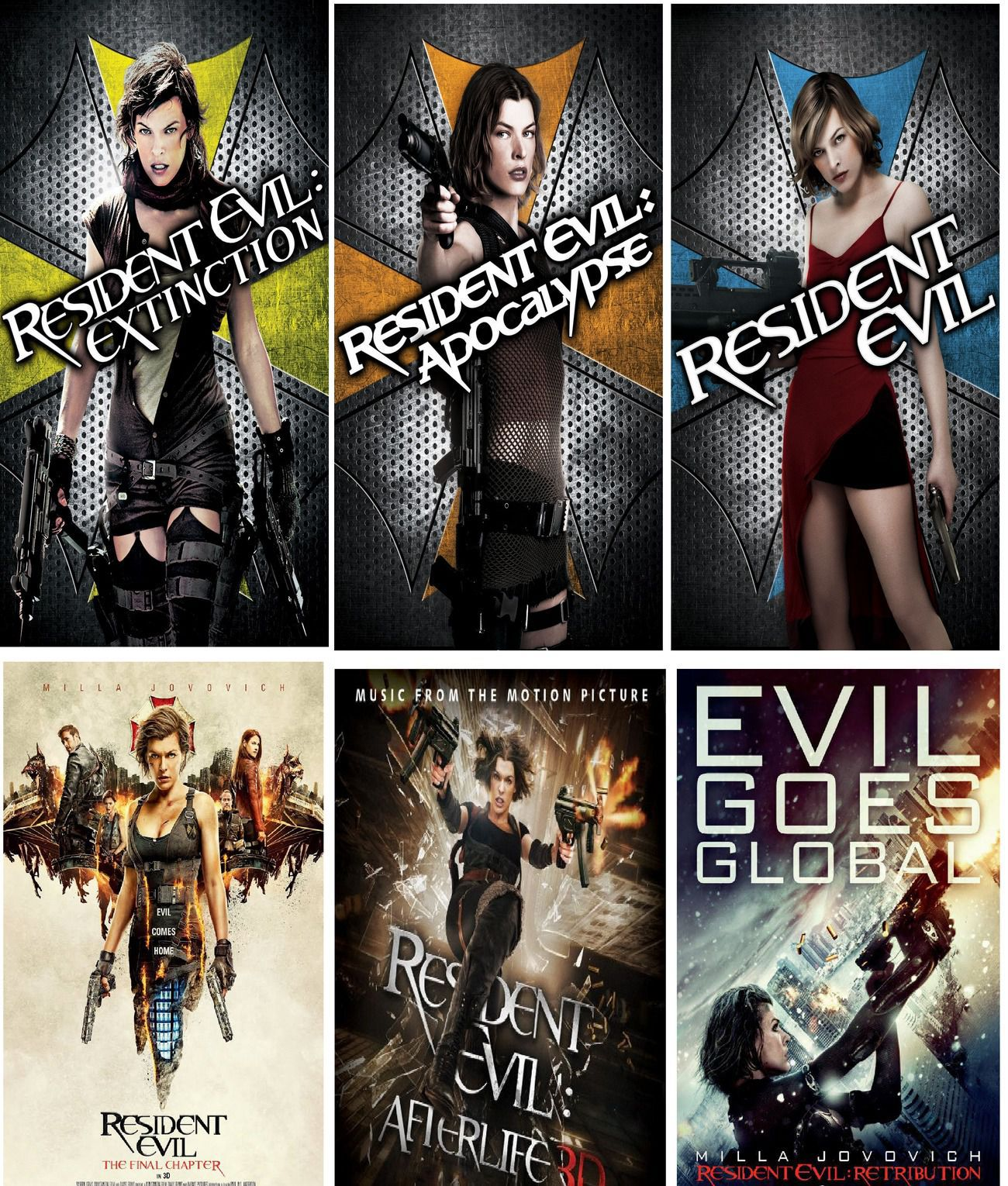 RESIDENT EVIL MOVIES (2002 - 2017) COLLECTION TAMIL DUBBED HD