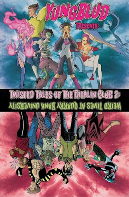 Capa do Twisted Tales of the Ritalin Club, volume 2