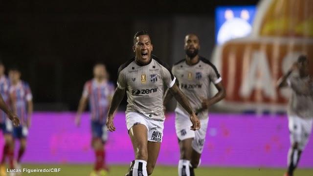 Ceará vence o Bahia no primeiro jogo da decisão da Copa do Nordeste