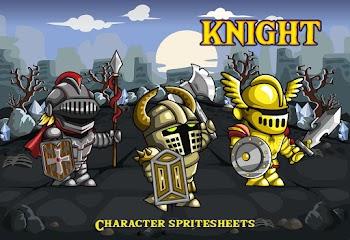 2D Oyun Yapabilmek için Knight Karakter Sprites
