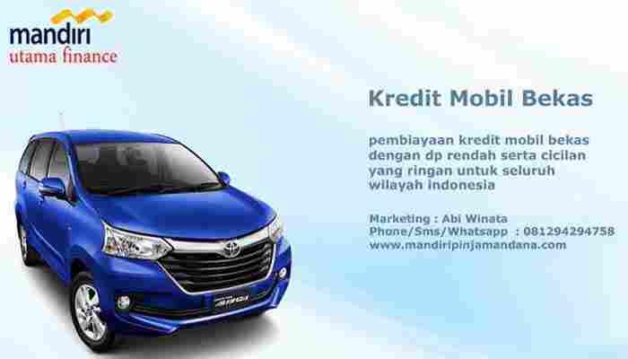 Pembiayaan Kredit Mobil Bekas