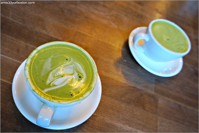 Matcha Latte de King's Street Coffee, Nueva York