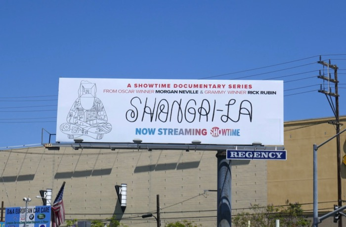 ShangriLa Showtime billboard