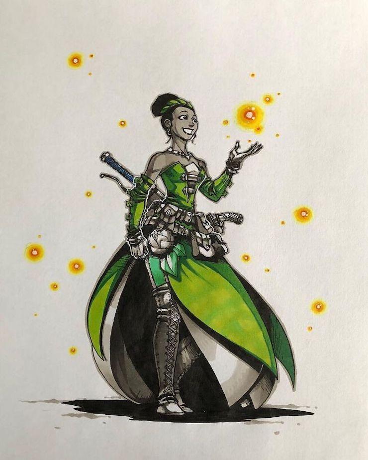 princesas-de-disney-reimaginadas-como-fuertes-guerreras