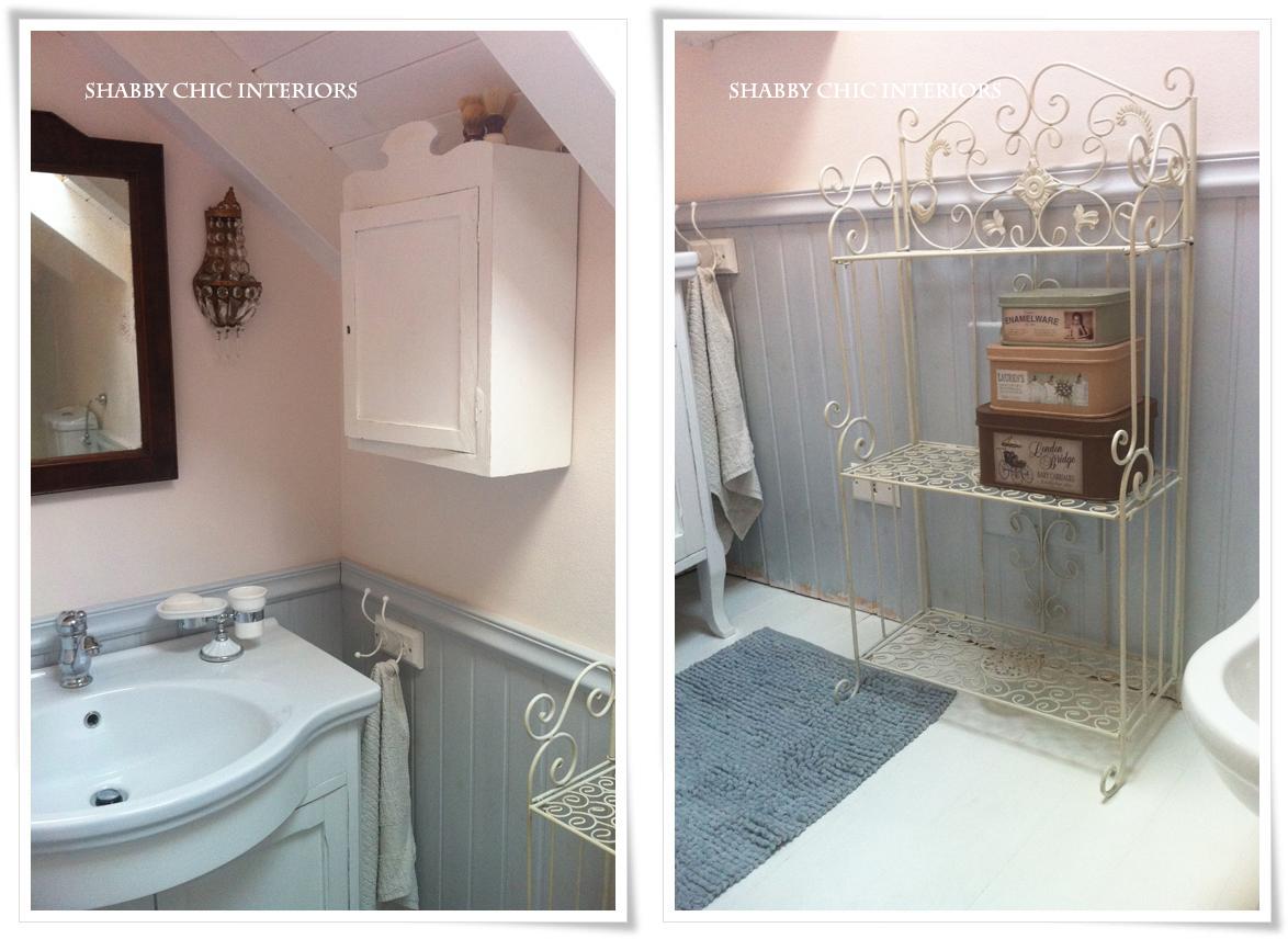 Tende Da Doccia In Tessuto Ikea : Il mio bagno shabby chic interiors