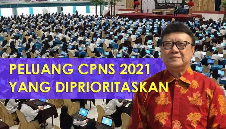Peluang CPNS 2021 dengan Formasi yang Diprioritaskan