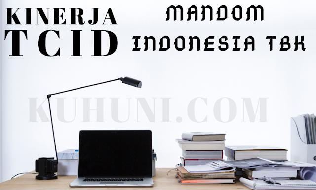 laba bersih Mandom Indonesia TCID kuartal 2 2020