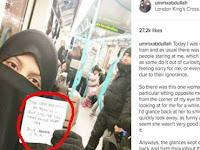 Sering Dapat Stigma Negatif, Muslimah Bercadar Ini Mendadak Dapat Surat Cinta, Isinya Bikin Haru