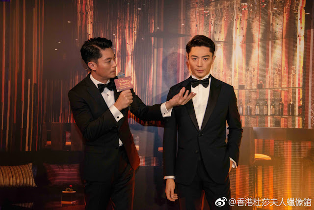 Wallace Huo celebrity wax figure