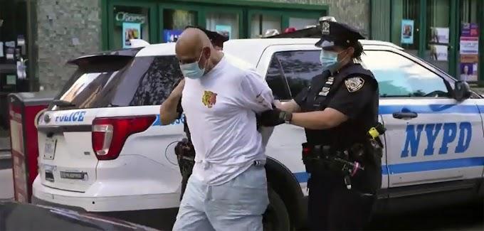 Dominicano celoso deja grave esposa tras golpearla con palanca de hierro en parada de autobuses en el Alto Manhattan