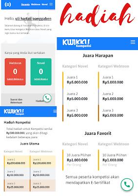 Hadiah kompetisi kwikku.com