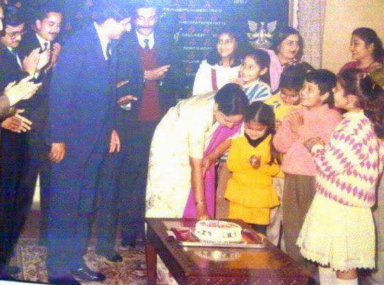 Family  celebrates Birthday of Anushka Sharma  in Childhood pictures