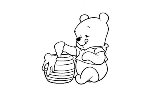 Winnie Pooh Bebe 1