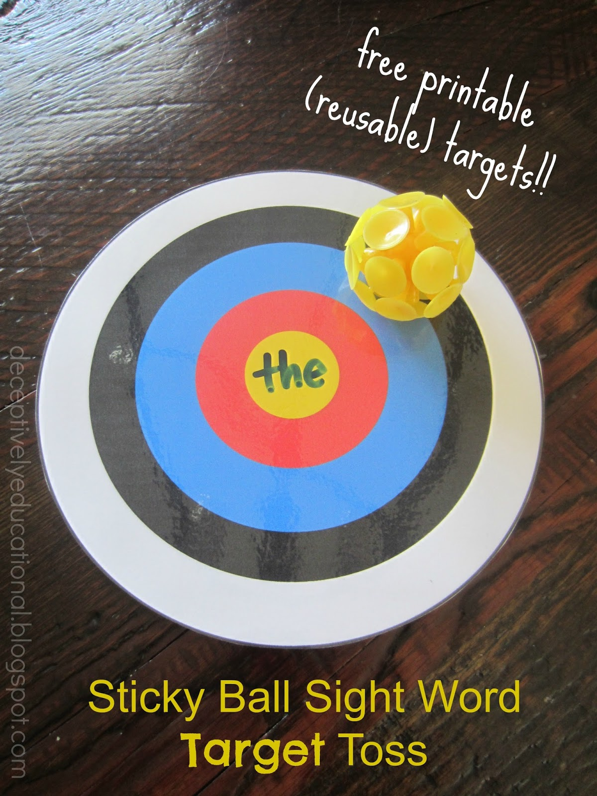 Relentlessly Fun Deceptively Educational Sticky Ball