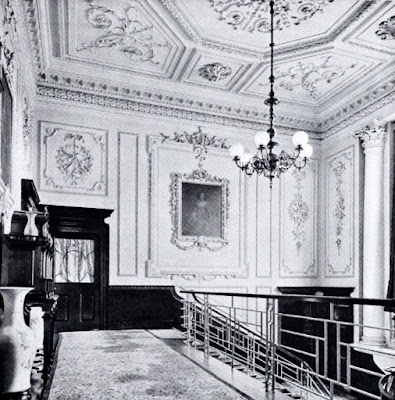 First Floor Landing, Hatchlands  from The architecture of Robert and James Adam by AT Bolton (1922)
