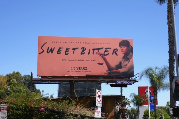 Sweetbitter series launch billboard