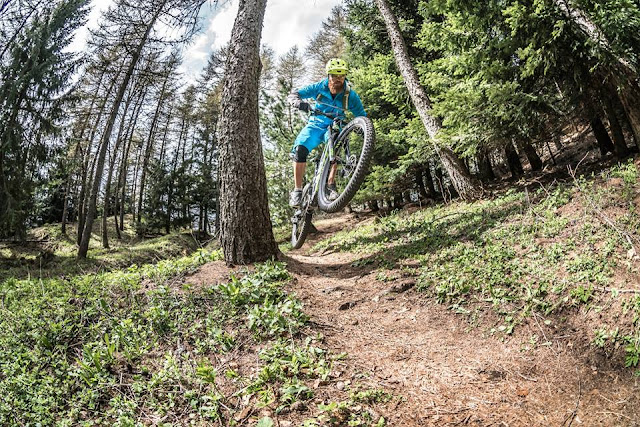 trento mountainbike touren mtb track trail guide