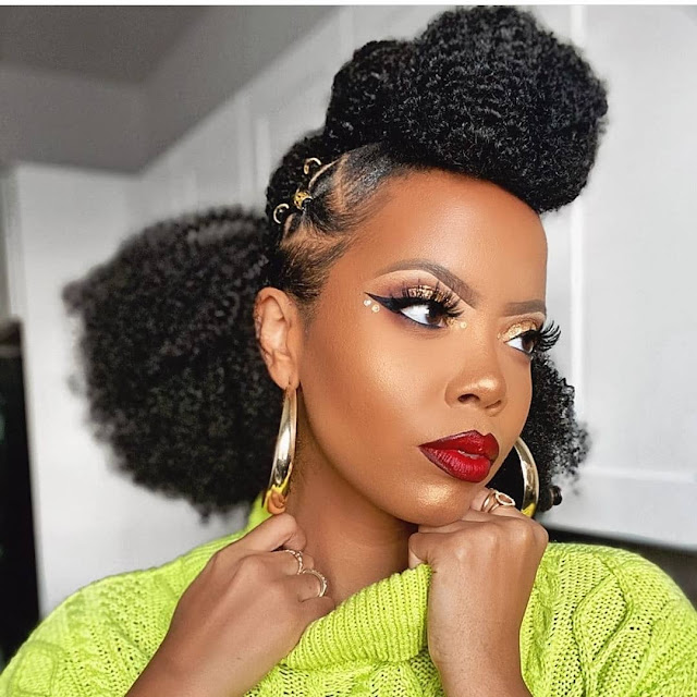 25 Lovely Latest Makeup Samples for Black Women