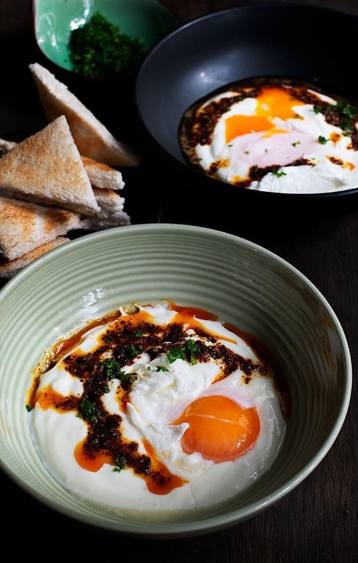 How to make turkish eggs
