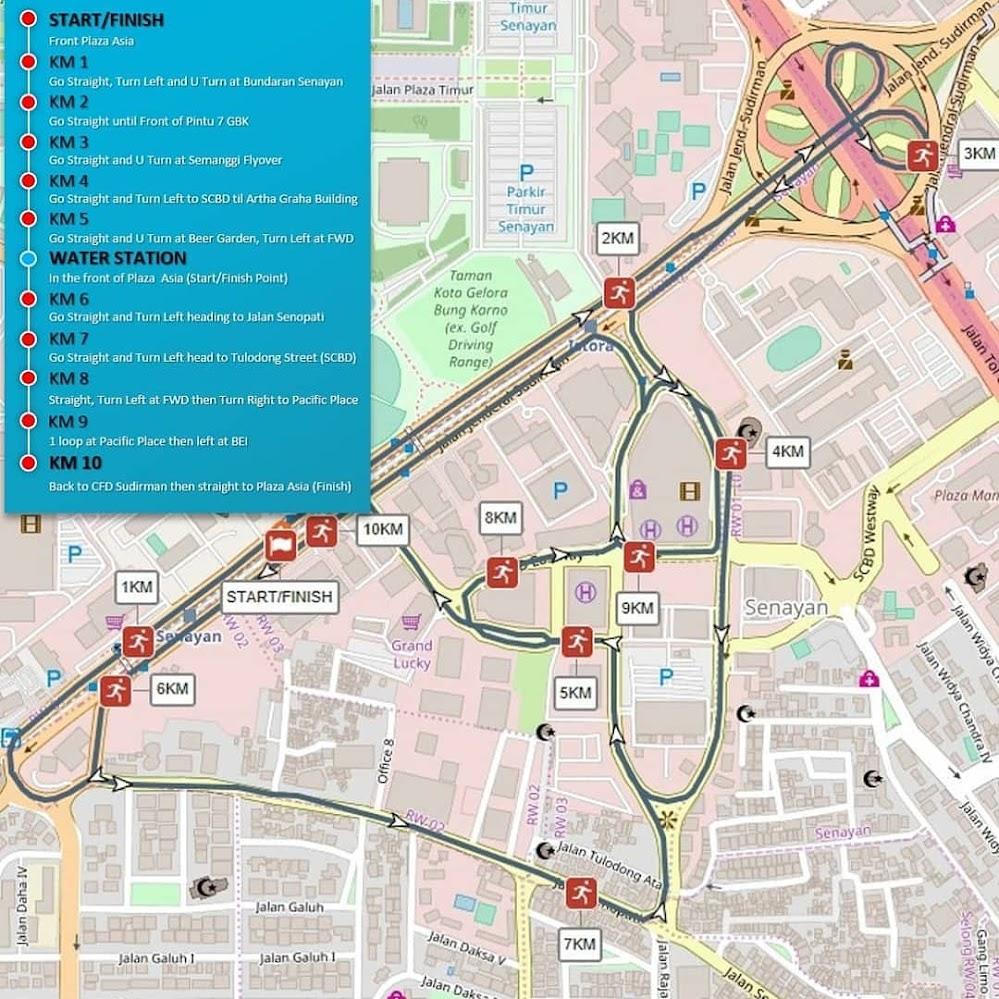 Map Friendship Run - The Kartini Goes To Tambora • 2019