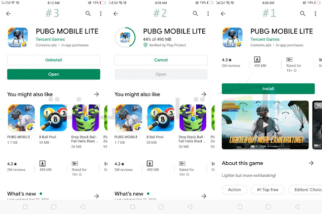 Download the full game PUBG Mobile Lite for Android