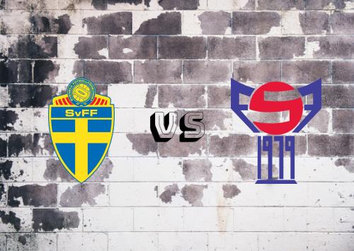 Suecia vs Islas Faroe  Resumen