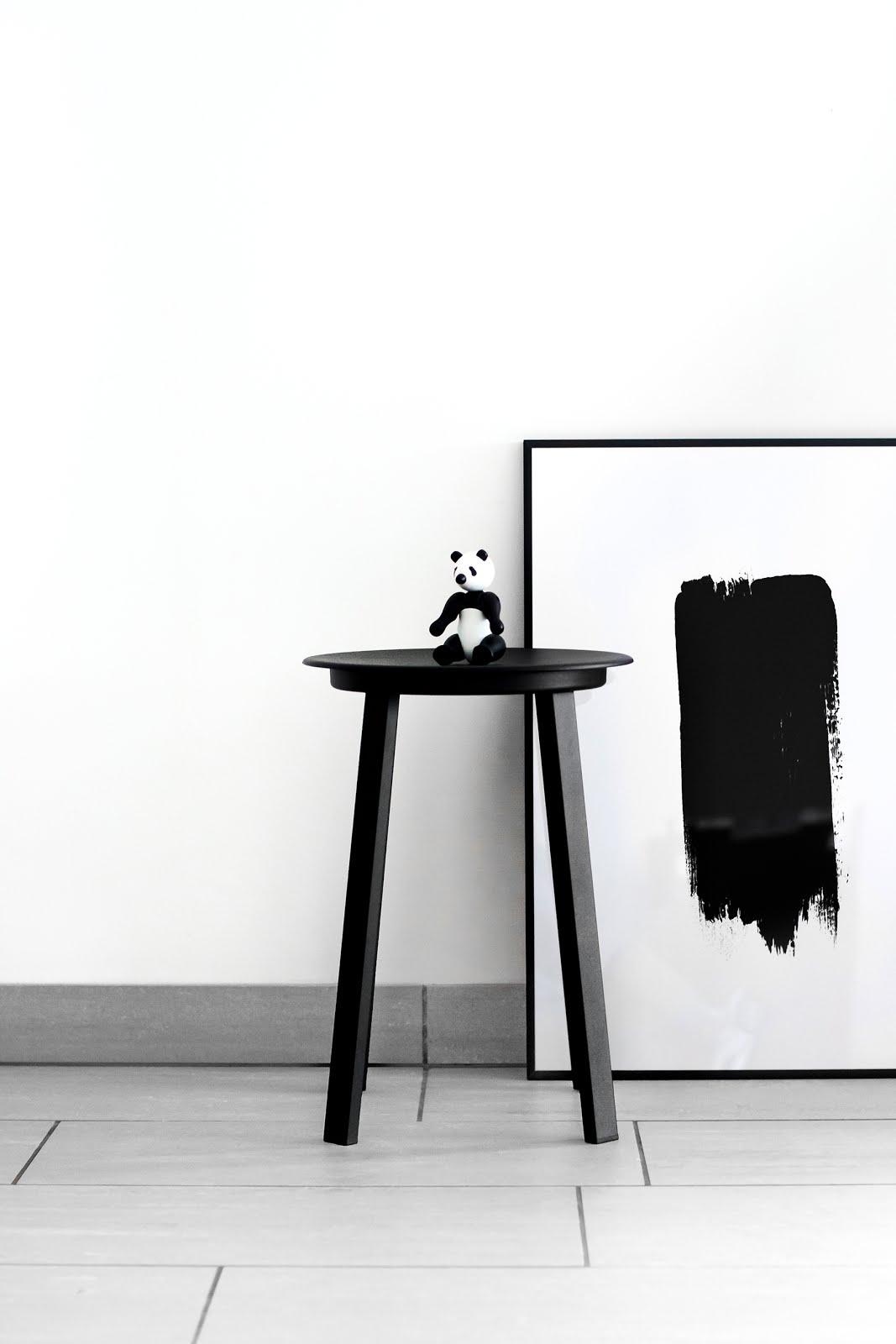 Hay, revolver, stool, black, minimal, designer, belgium, interieur, interior design