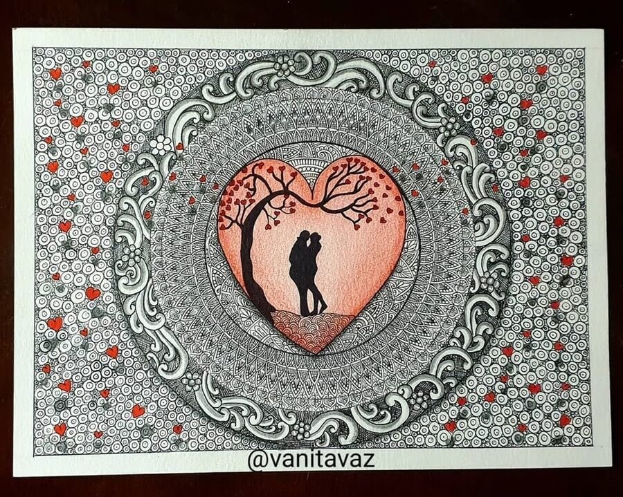 06-Hearts-and-Love-Vanita-Vaz-Mandala-and-Doodle-www-designstack-co