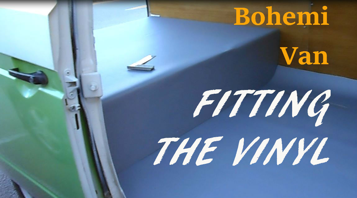 BohemiVan: VANLIFE - Fitting a Campervan Subfloor and Lino