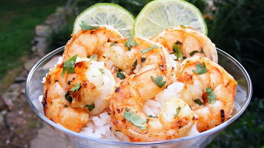 Margarita Grilled Shrimp Recipe - Healthy Recipes